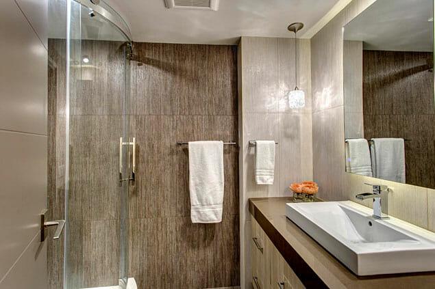 High Rise Condo Hall Bath Remodel