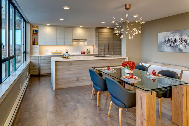 High Rise With A View – Kitchen Remodel