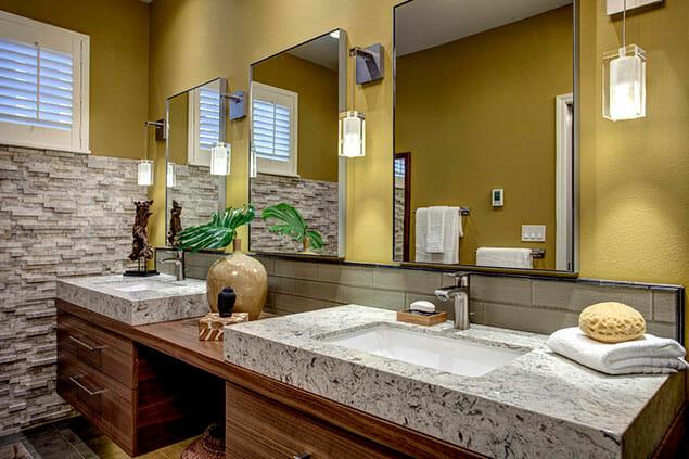 Modern Oasis – Master Bathroom Remodel