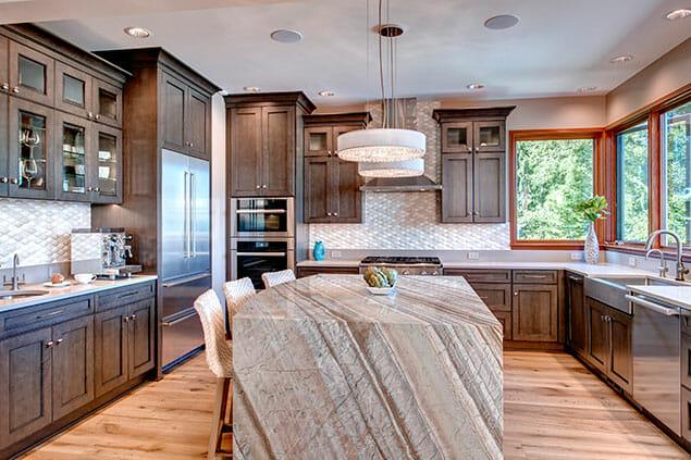 Sandpoint Waterfront Addition – Kitchen Remodel