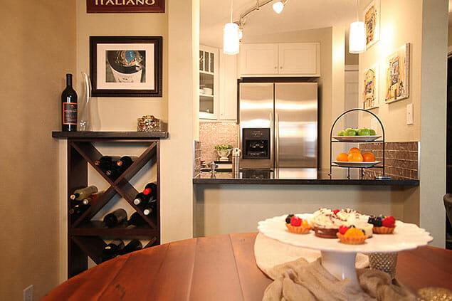 Tiny Condo Kitchen Remodel