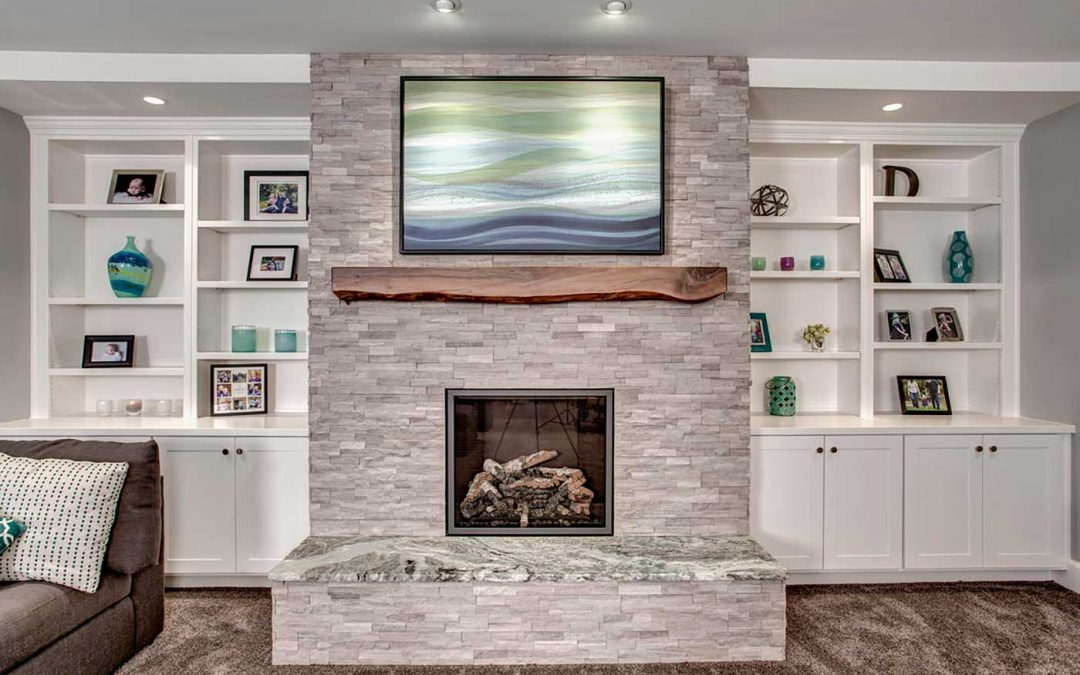 Get Cozy this Season by Adding a Fireplace