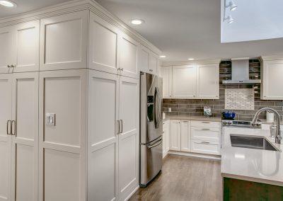 Classic White Woodinville Kitchen and Bath Remodel