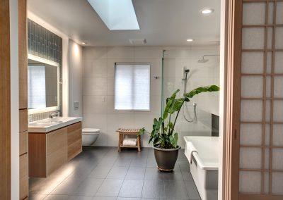 Bellevue Custom Modern Master Bath